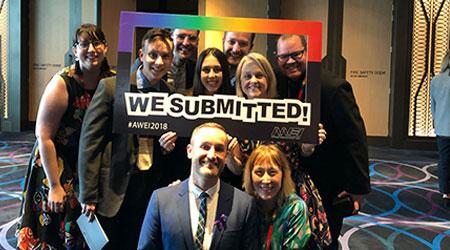 Australian Workplace Equality Index celebrating LGBTI+ Pride