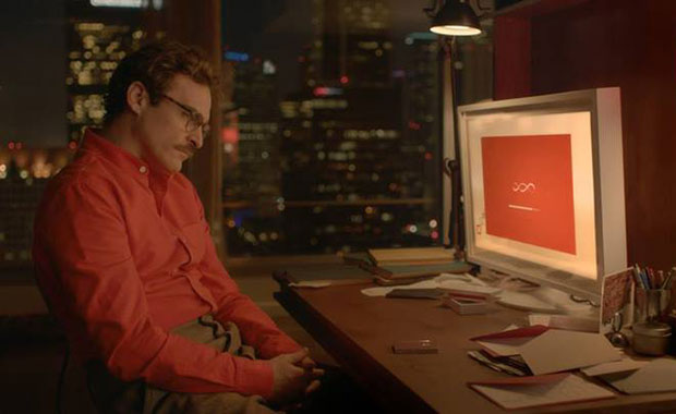 A scene from the movie 'Her'