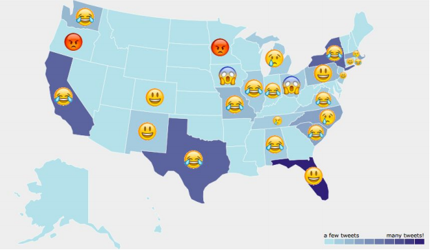 Hillary Clinton social sentiment throughout debate one. Source: Stanford University