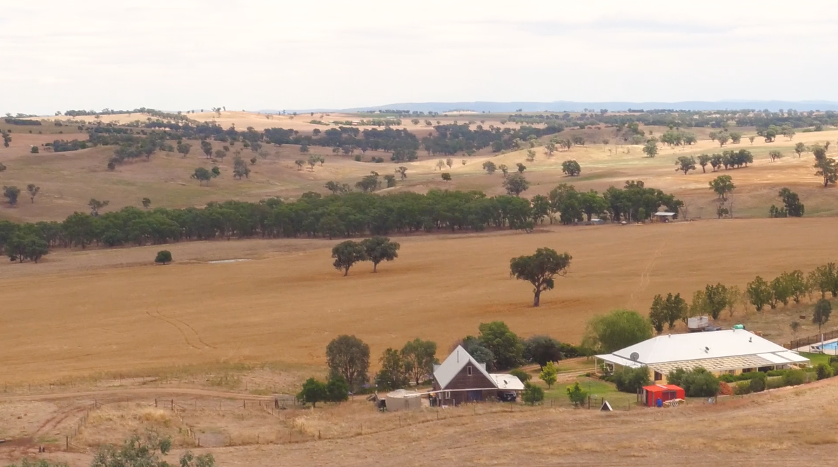 Clayton Maynard's property in Western NSW
